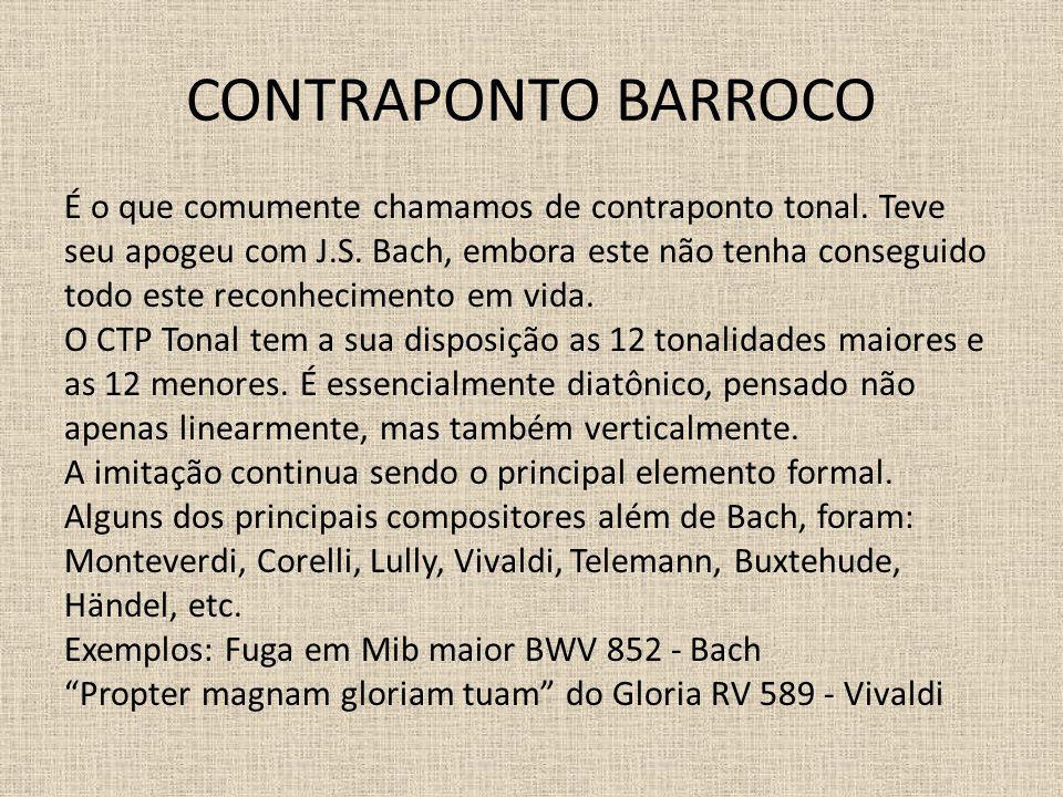 CONTRAPONTO BARROCO