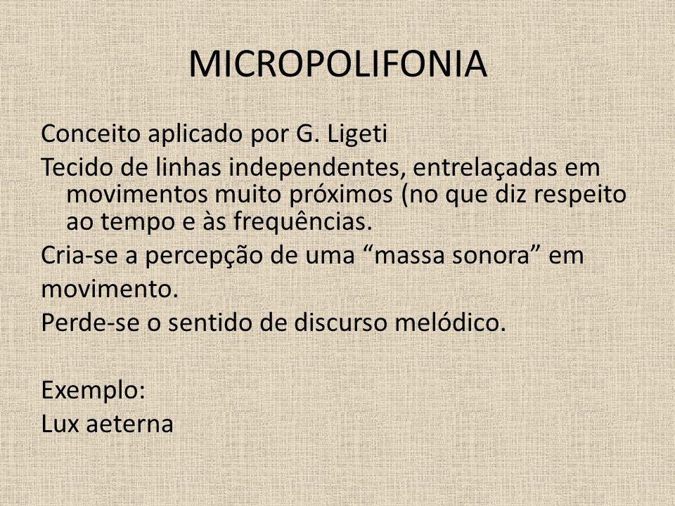 MICROPOLIFONIA
