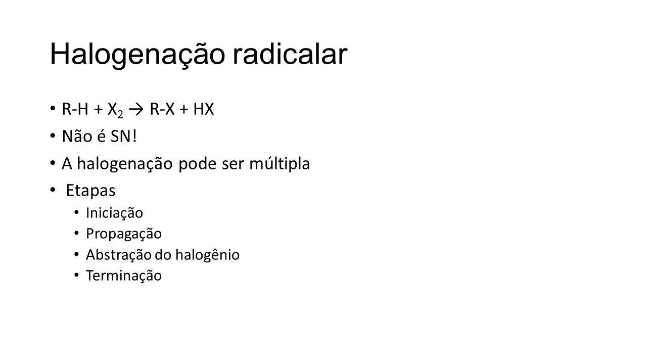 Halogenação radicalar