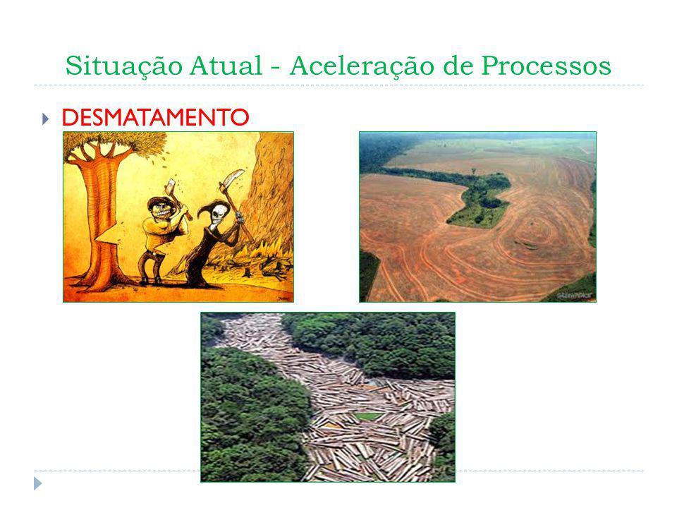 Situação Atual - Aceleração de Processos