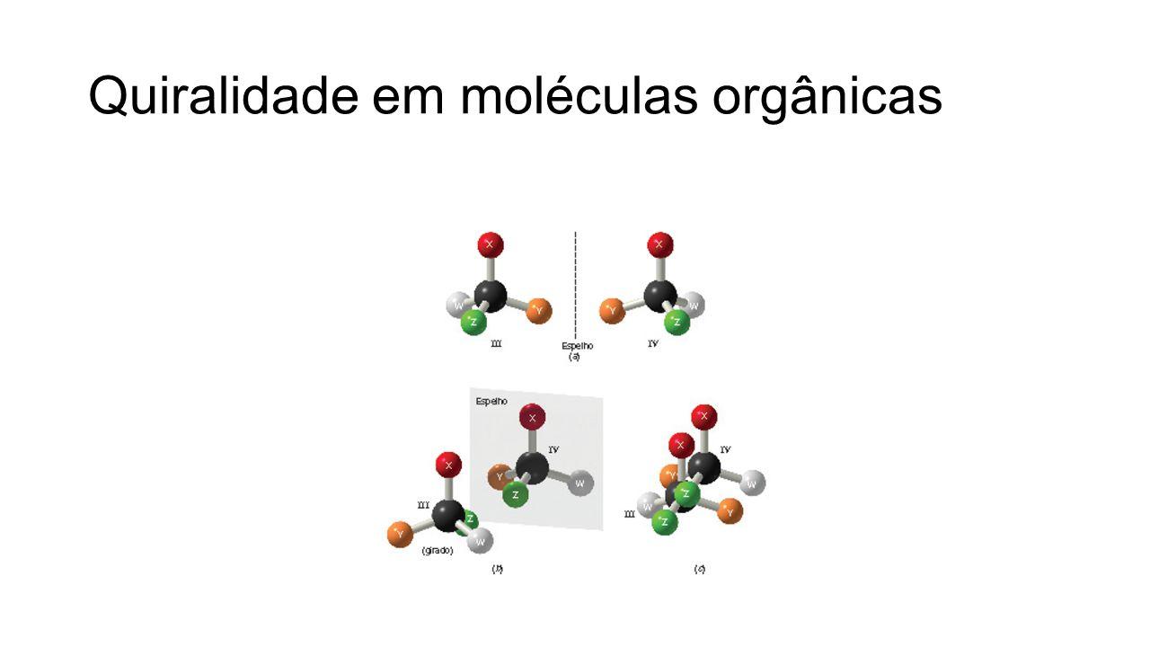 Quiralidade em moléculas orgânicas