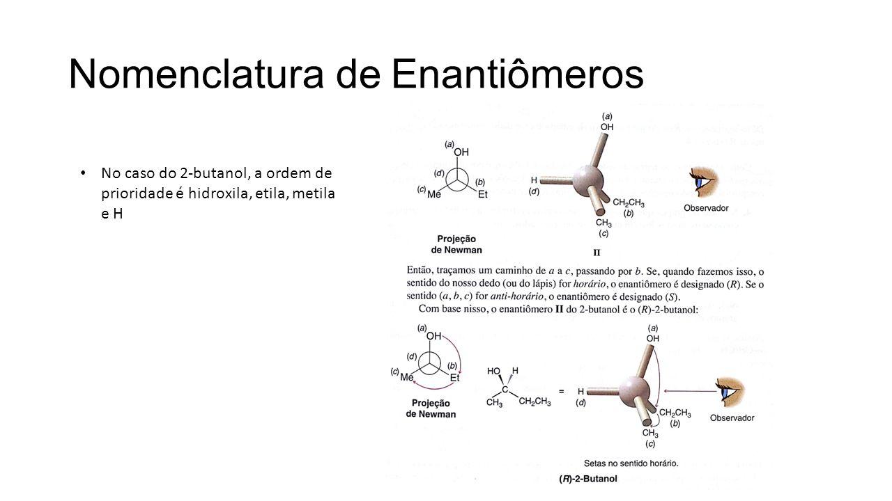 Nomenclatura de Enantiômeros