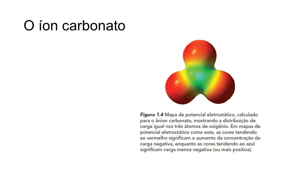 O íon carbonato