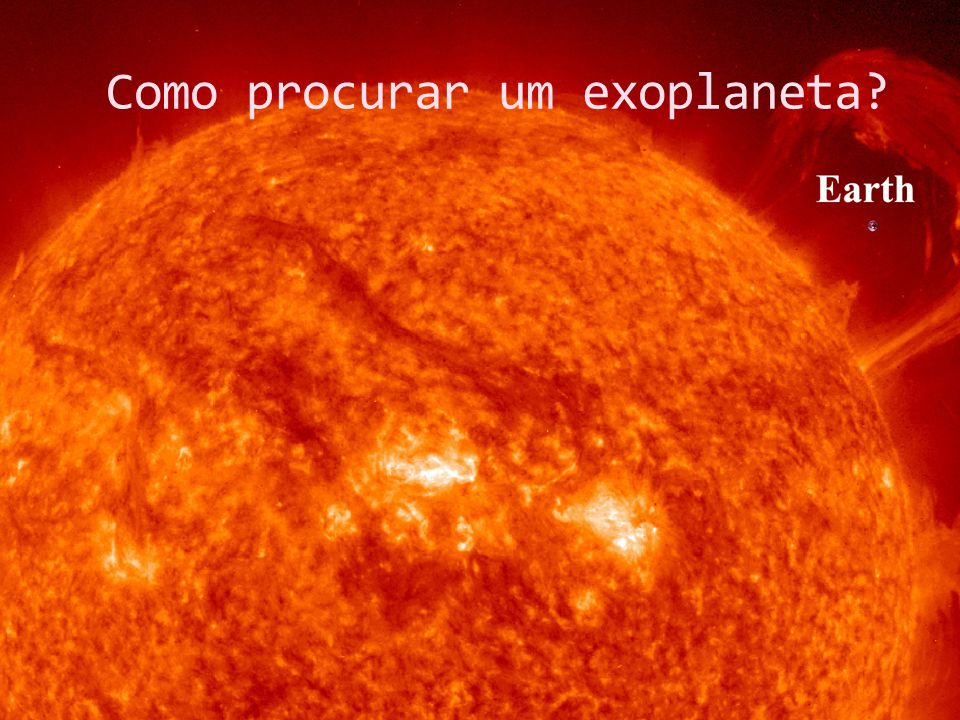 Como procurar um exoplaneta
