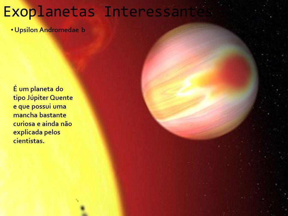 Exoplanetas Interessantes