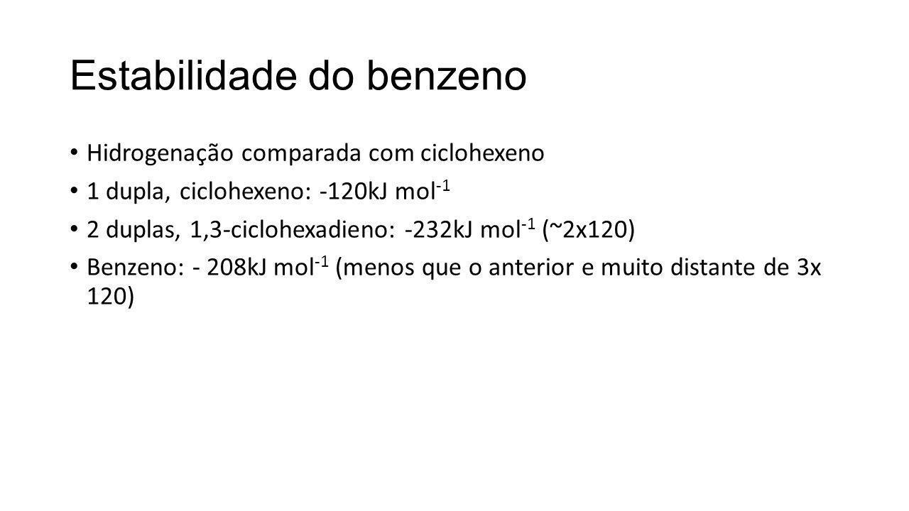 Estabilidade do benzeno