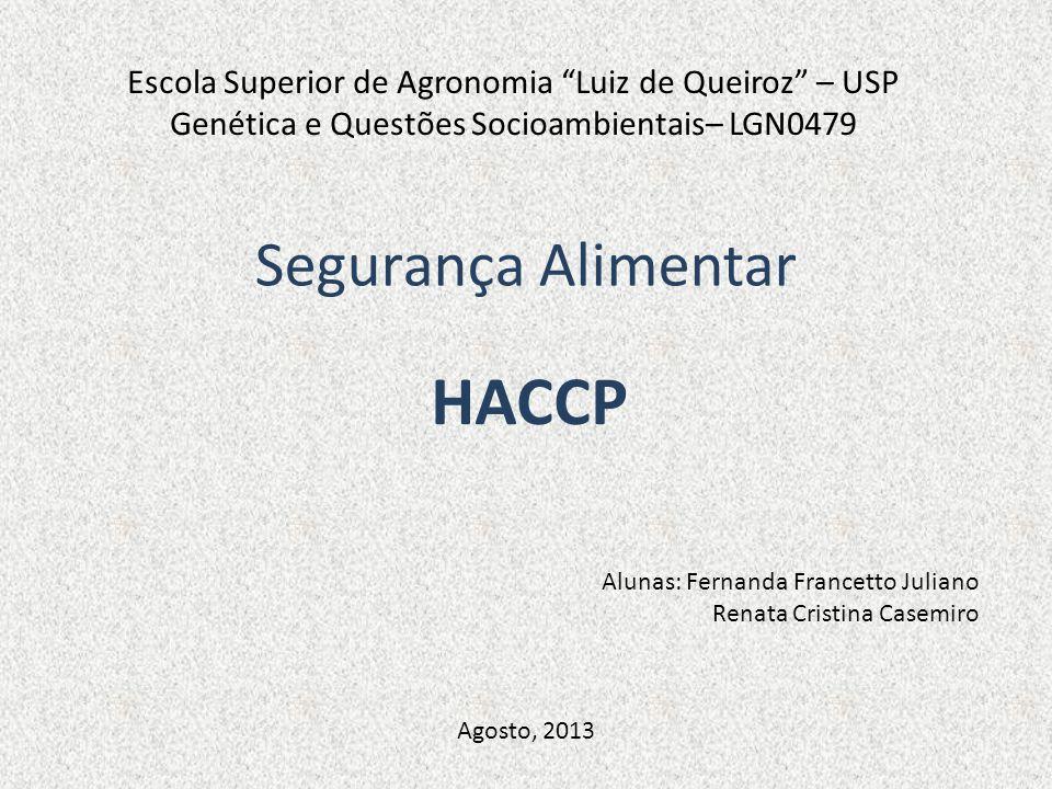 HACCP Segurança Alimentar