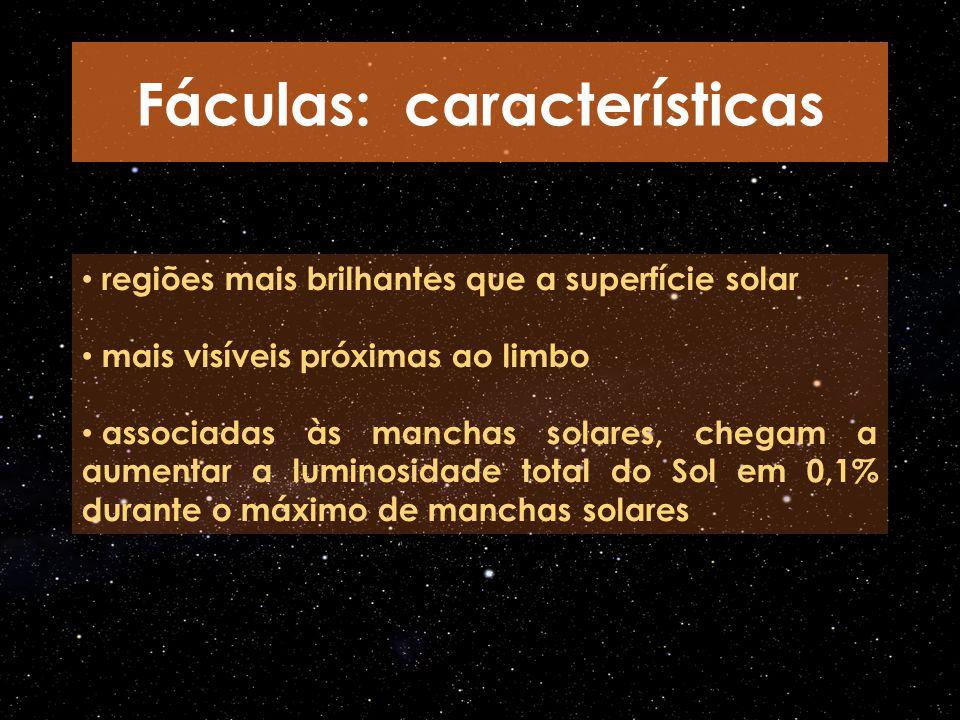 Fáculas: características
