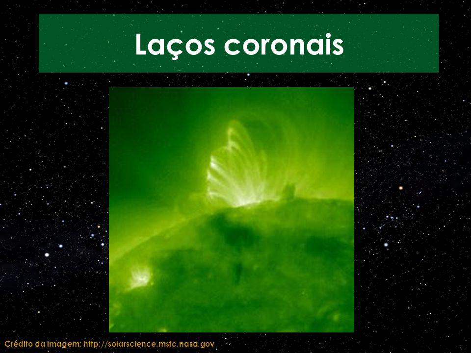 Crédito da imagem: http://solarscience.msfc.nasa.gov