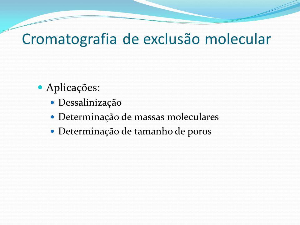 Cromatografia de exclusão molecular