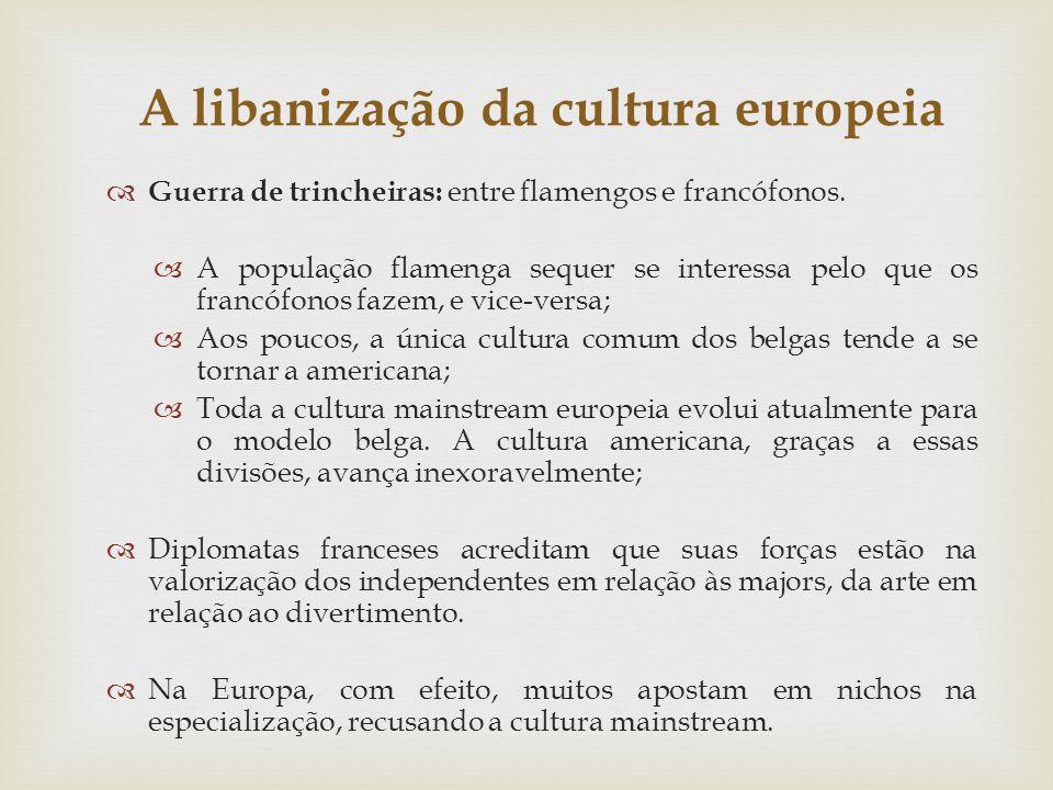 A libanização da cultura europeia