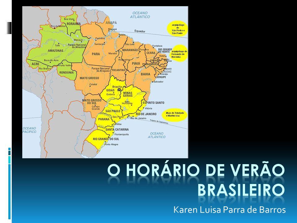 O horário de verão Brasileiro