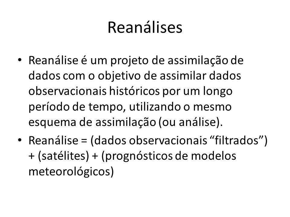 Reanálises