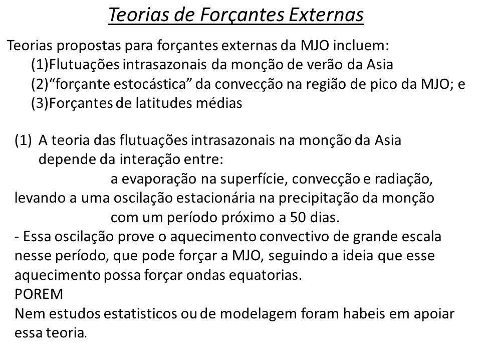 Teorias de Forçantes Externas