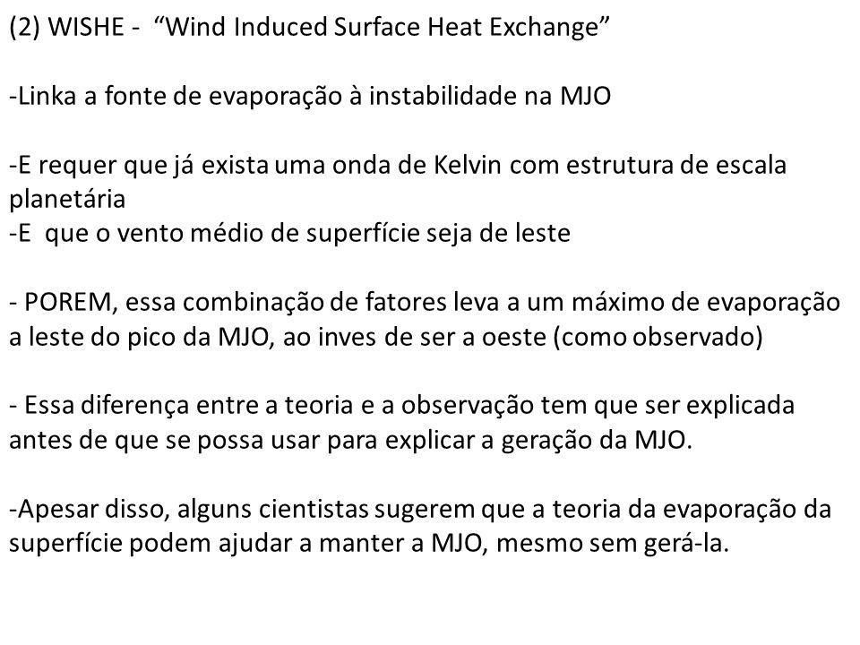 (2) WISHE - Wind Induced Surface Heat Exchange
