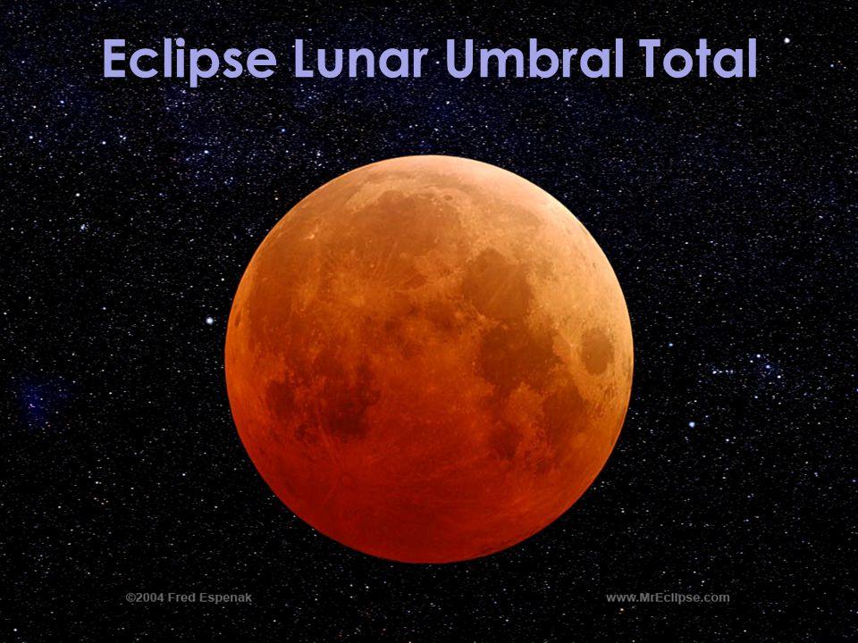 Eclipse Lunar Umbral Total