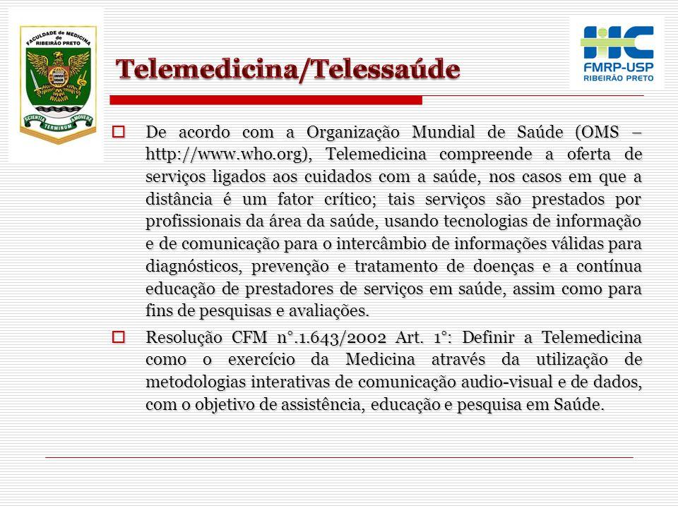 Telemedicina/Telessaúde
