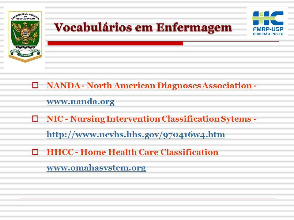 Vocabulários em Enfermagem