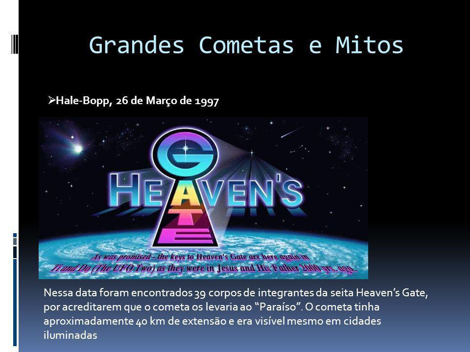 Grandes Cometas e Mitos
