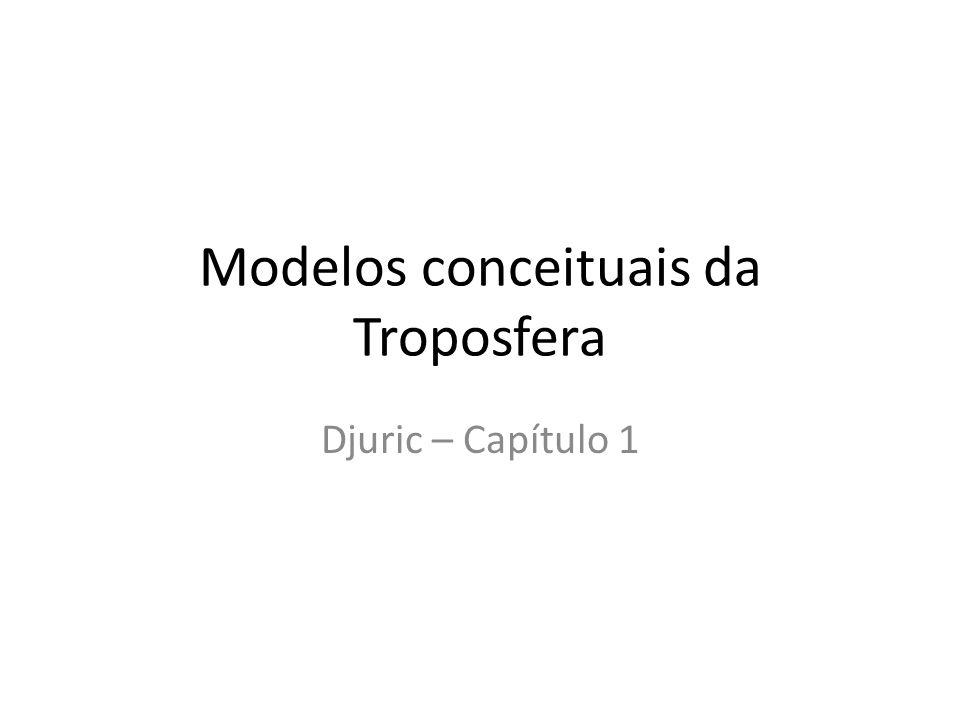 Modelos conceituais da Troposfera