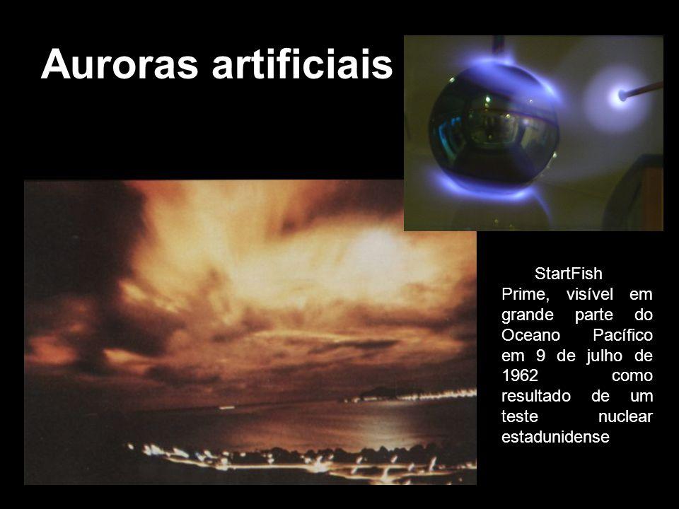 Auroras artificiais