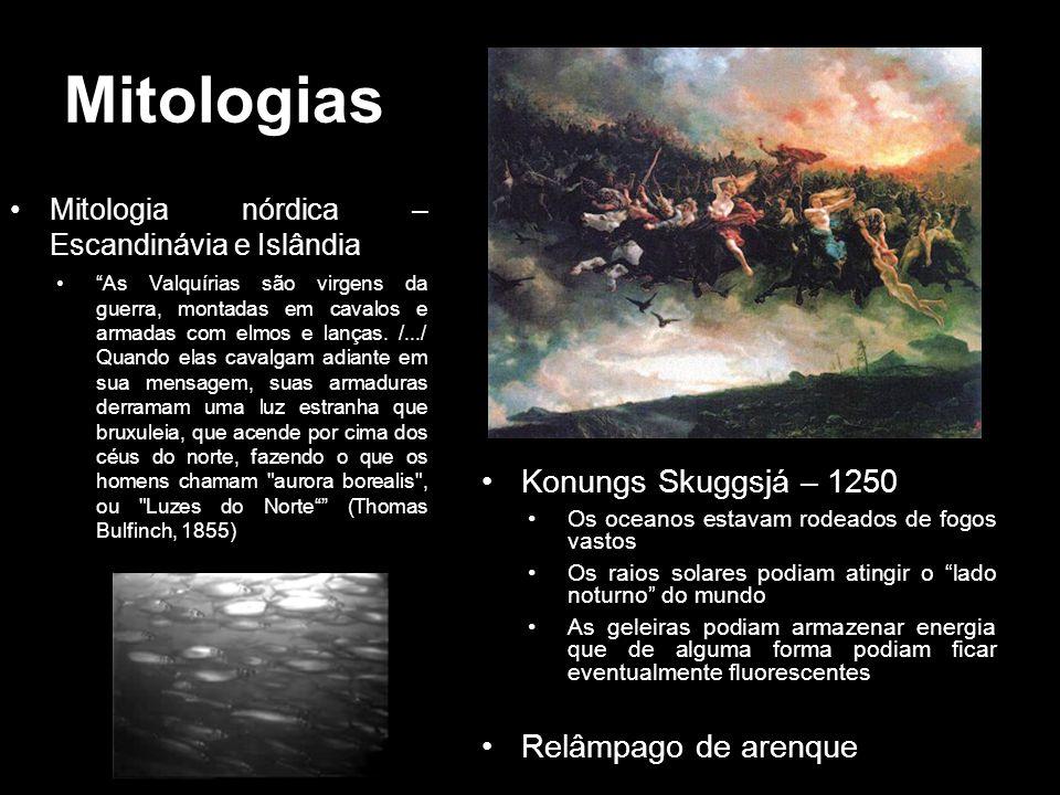 Mitologias Konungs Skuggsjá – 1250 Relâmpago de arenque