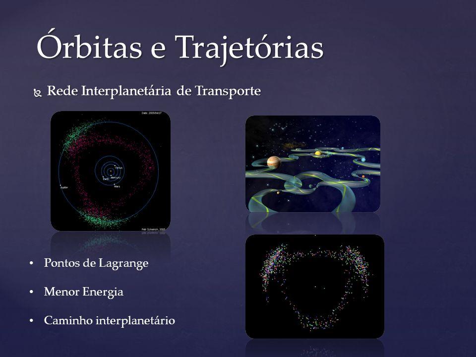 Órbitas e Trajetórias Rede Interplanetária de Transporte