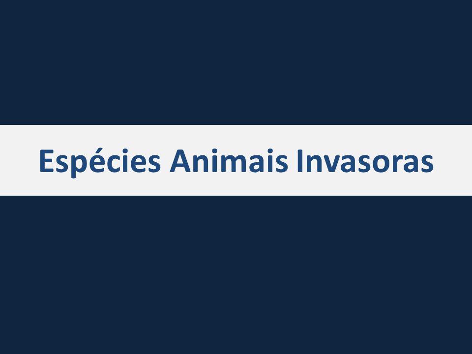 Espécies Animais Invasoras