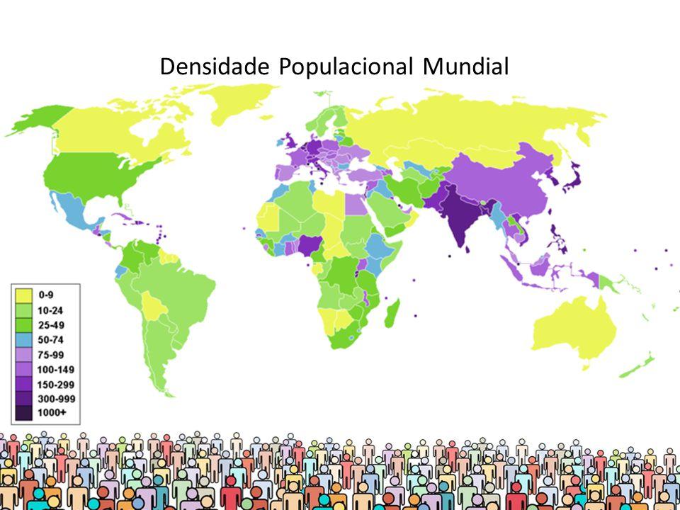 Densidade Populacional Mundial