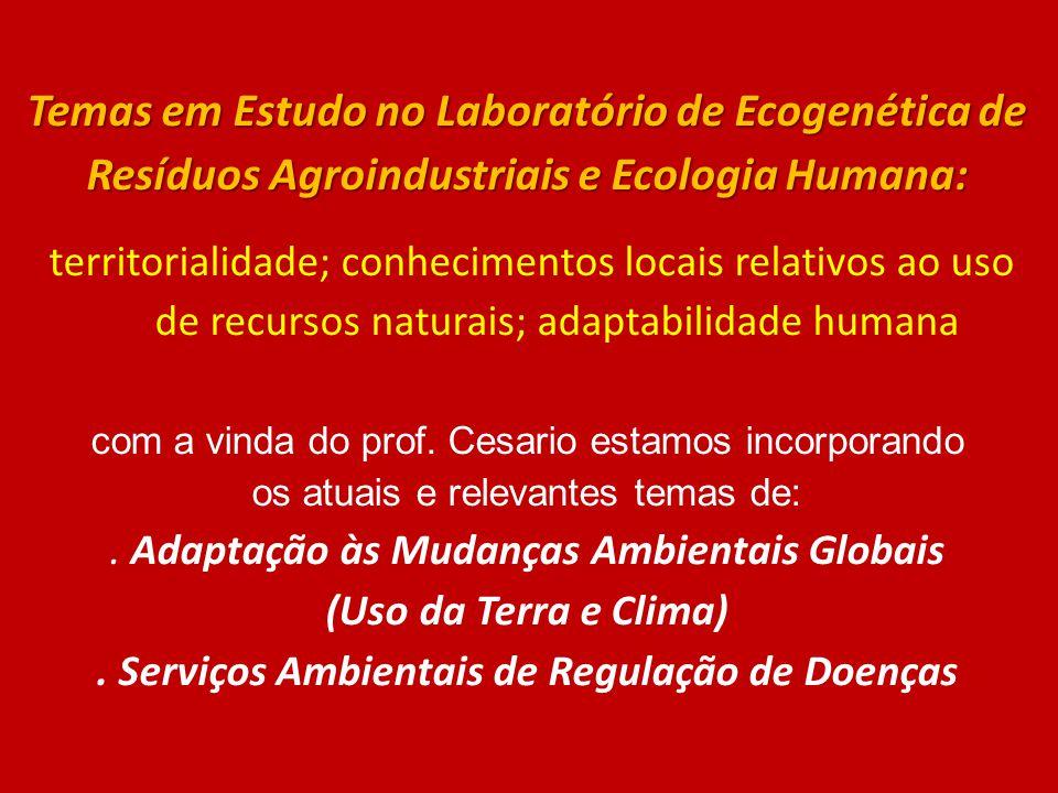 . Serviços Ambientais de Regulação de Doenças
