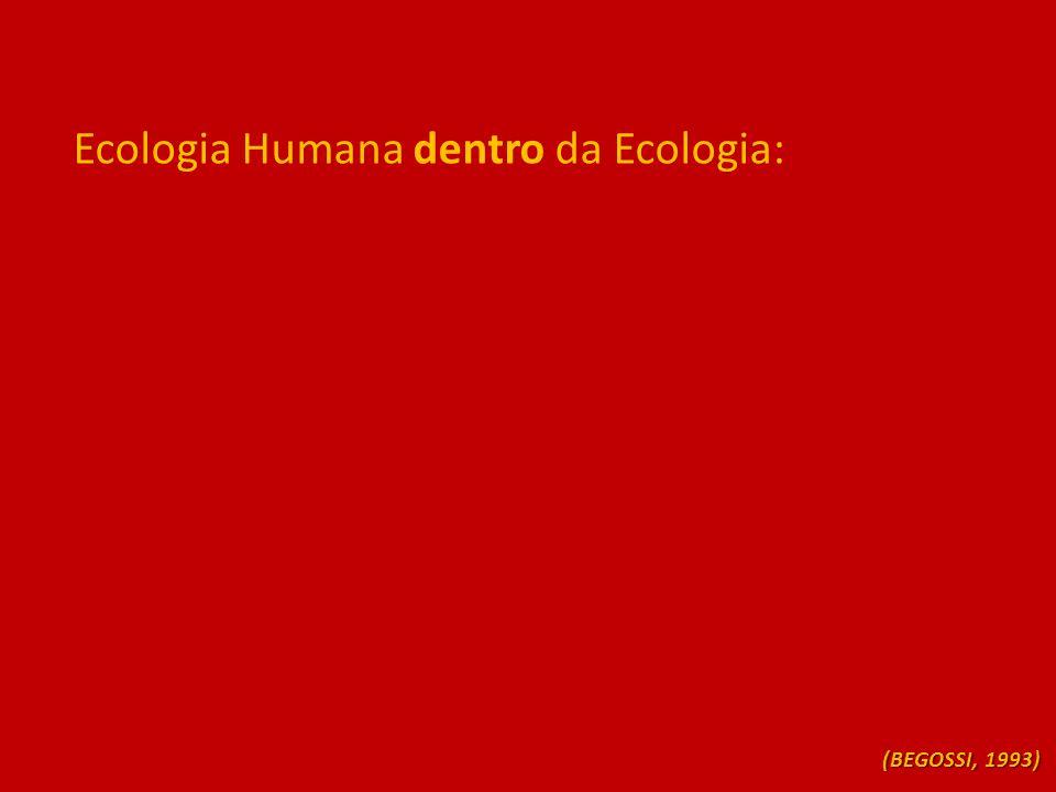 Ecologia Humana dentro da Ecologia:
