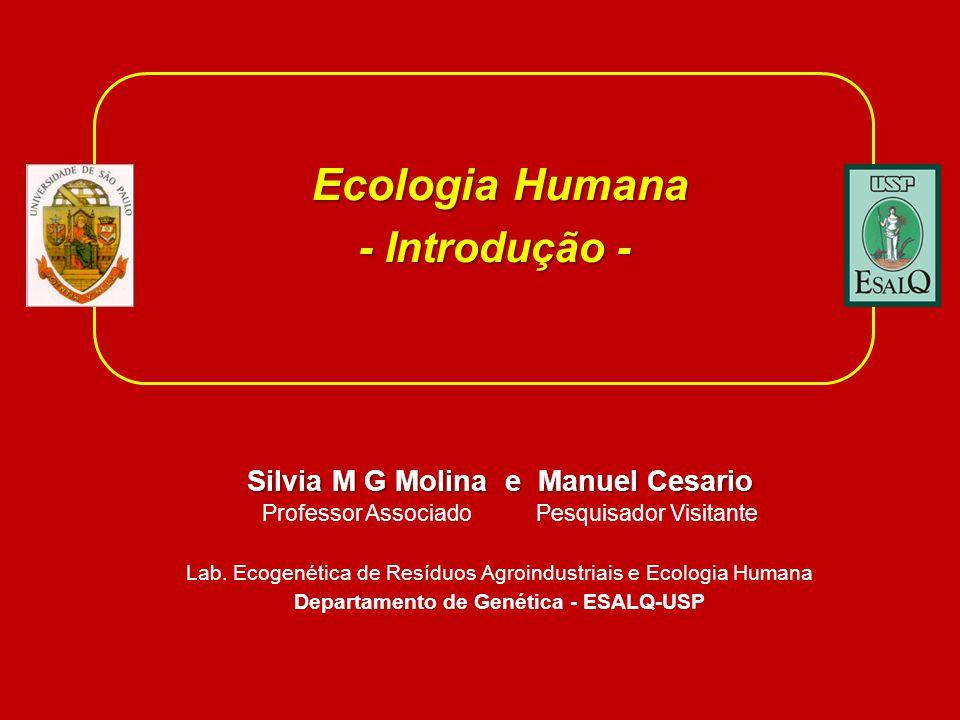 Silvia M G Molina e Manuel Cesario