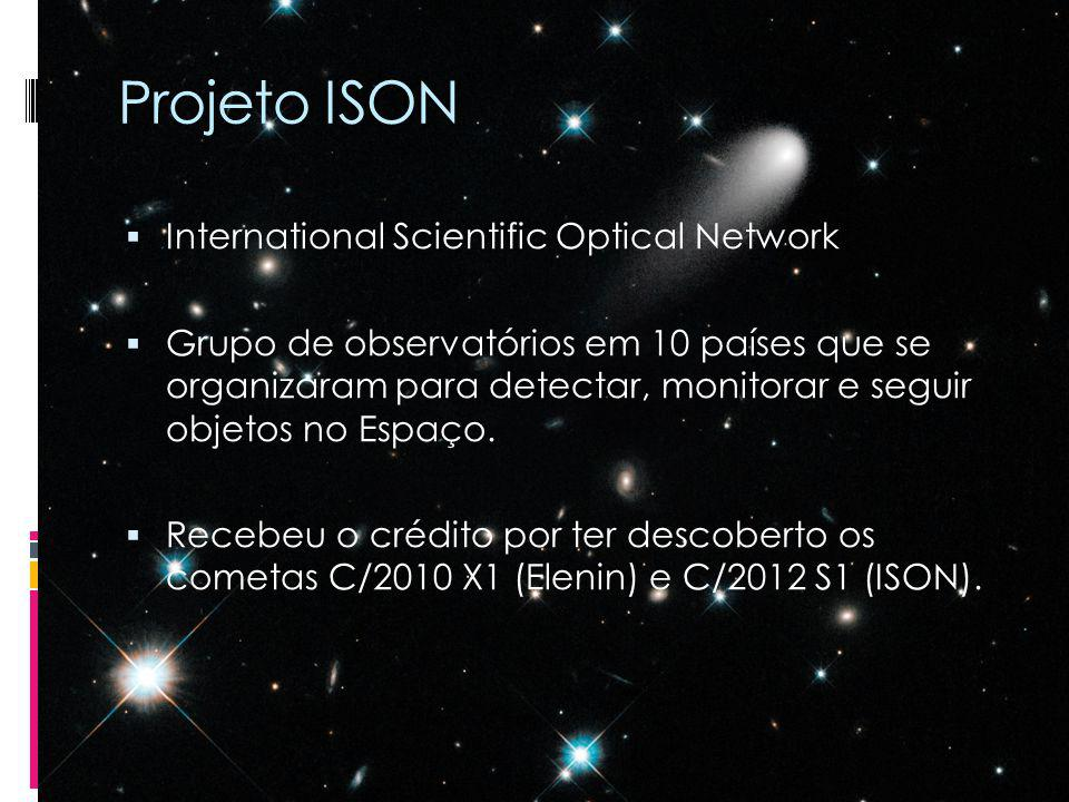 Projeto ISON International Scientific Optical Network