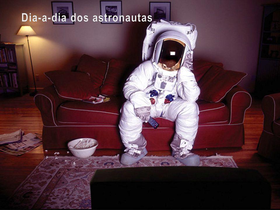 Dia-a-dia dos astronautas