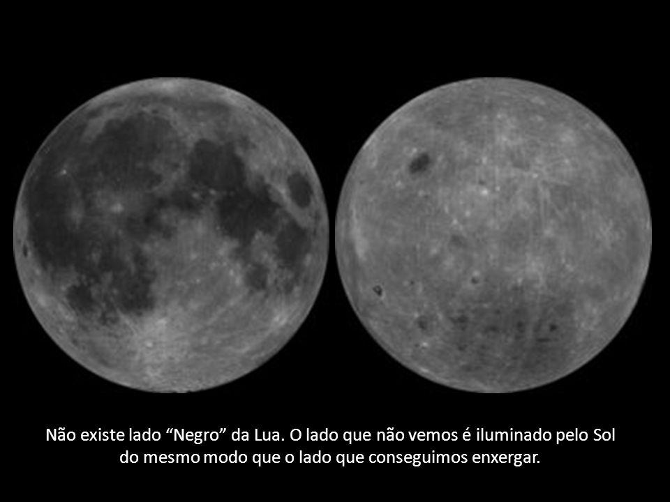 Não existe lado Negro da Lua