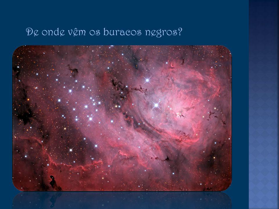 De onde vêm os buracos negros