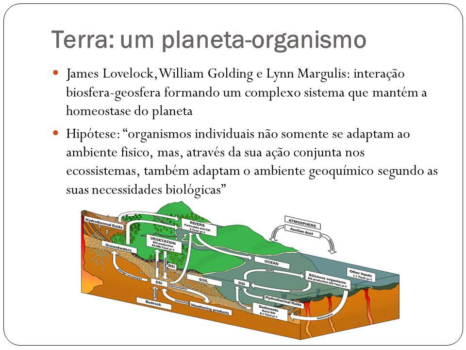 Terra: um planeta-organismo