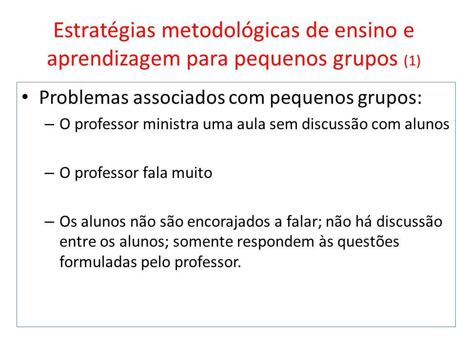 Estratégias metodológicas de ensino e aprendizagem para pequenos grupos (1)