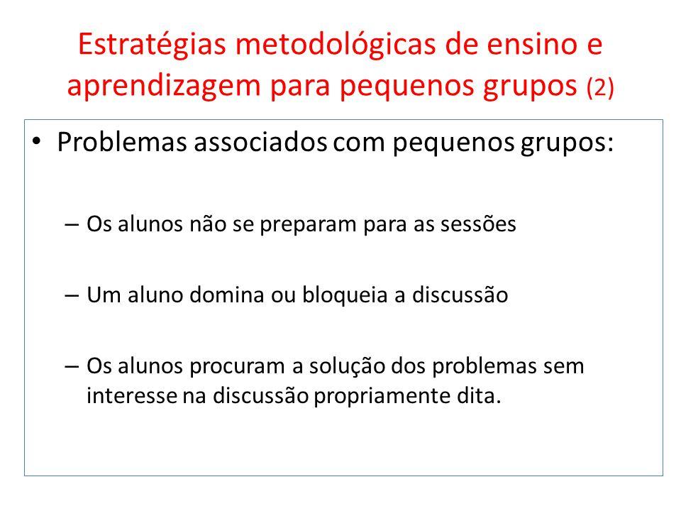 Estratégias metodológicas de ensino e aprendizagem para pequenos grupos (2)