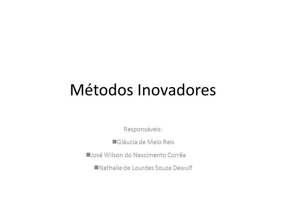 Métodos Inovadores Responsáveis: Gláucia de Melo Reis