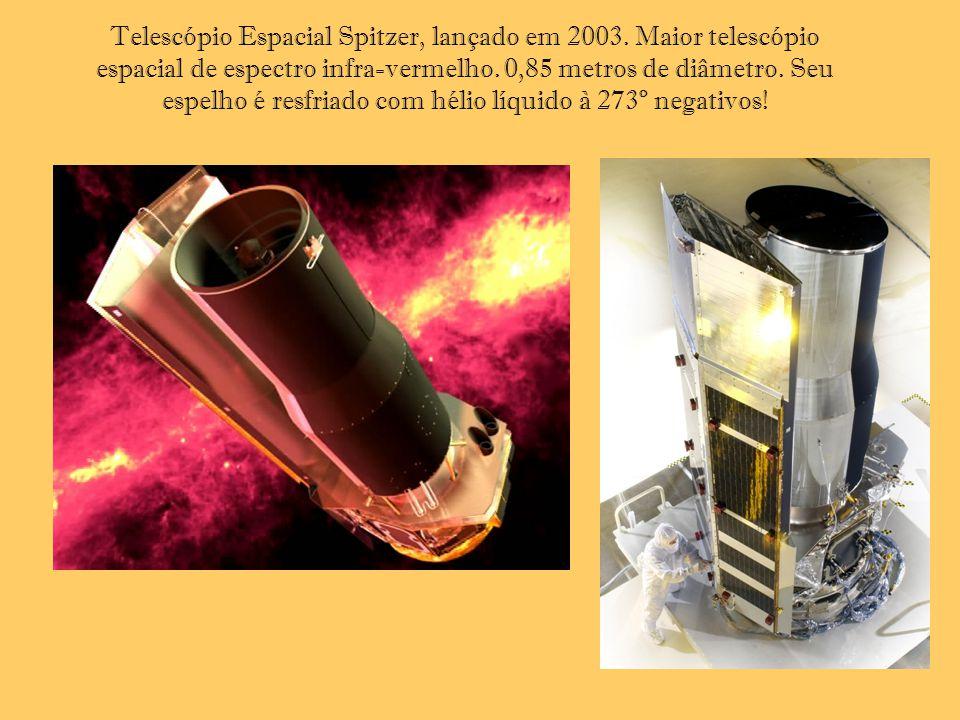 Telescópio Espacial Spitzer, lançado em 2003