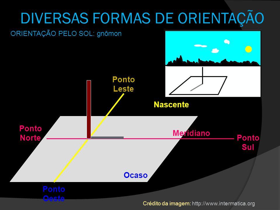 DIVERSAS FORMAS DE ORIENTAÇÃO