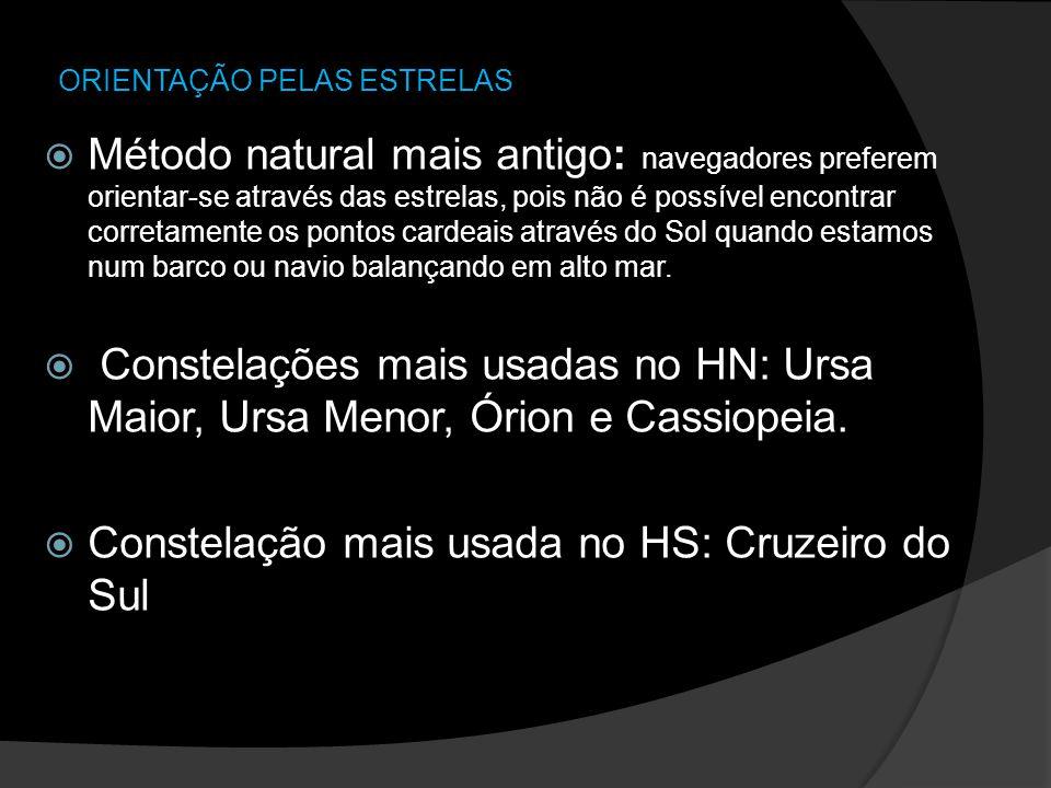 ORIENTAÇÃO PELAS ESTRELAS