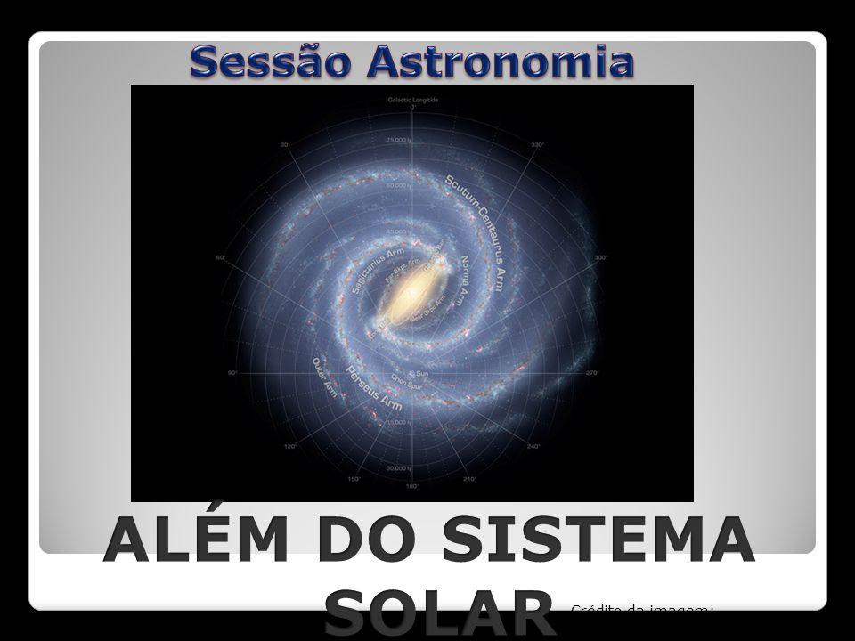 ALÉM DO SISTEMA SOLAR Sessão Astronomia