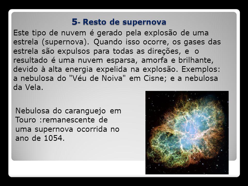 5- Resto de supernova
