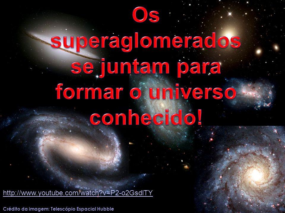 Os superaglomerados se juntam para formar o universo conhecido!