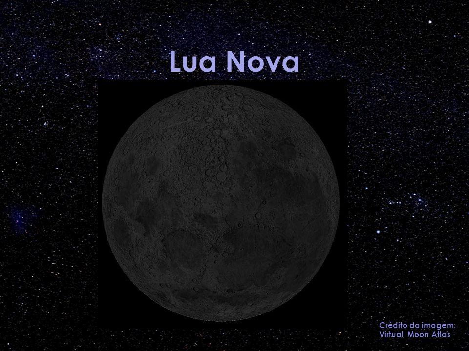 Lua Nova Crédito da imagem: Virtual Moon Atlas
