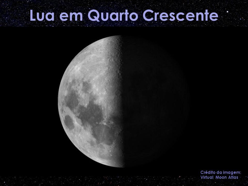Lua em Quarto Crescente