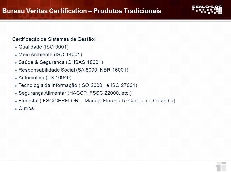 Bureau Veritas Certification – Produtos Tradicionais