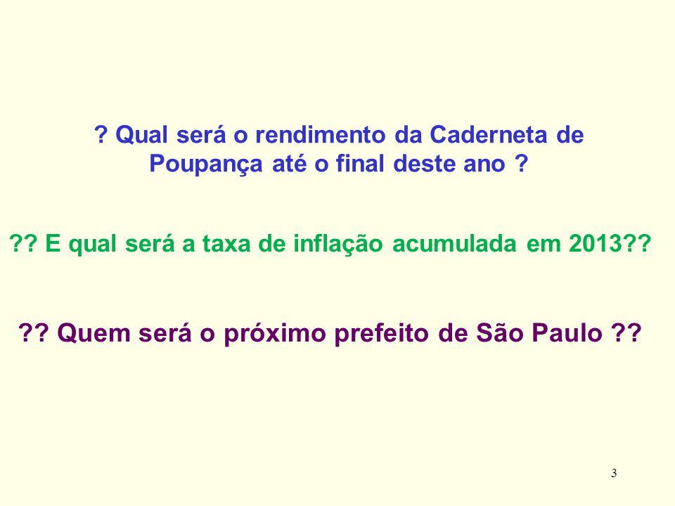 Quem será o próximo prefeito de São Paulo